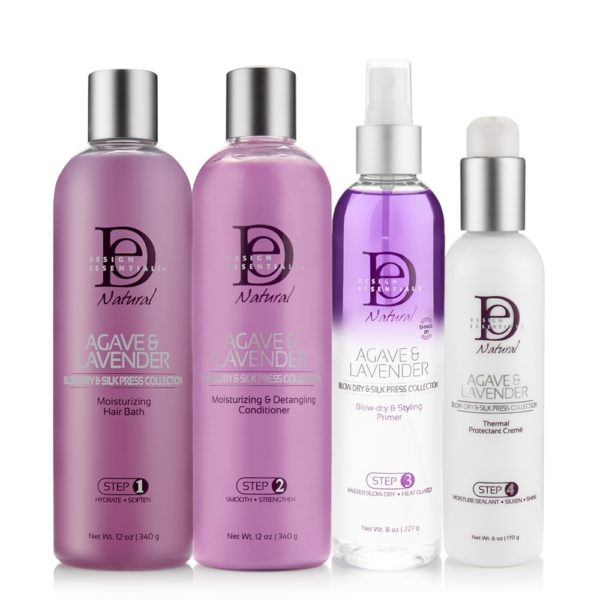 Agave-Lavendar-Blow Dry-Silk-Collection